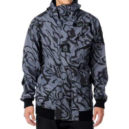 Neff Assault 10K Black Ops Camo 2012 Technical Softshell Guys Snowboard Jacket