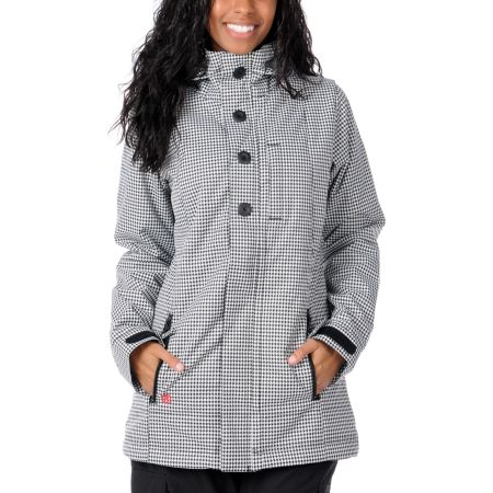 Special Blend True 2012 Black & White 10K Girls Snowboard Jacket