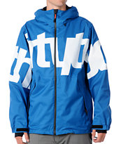 Thirtytwo Lowdown 10K Royal 2012 Guys Snowboard Jacket