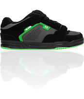 Globe Shoes Scribe Black, Charcoal & Green Skate Shoe