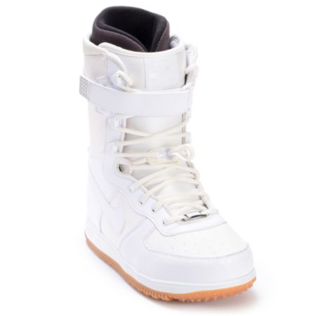 Nike Zoom Force 1 White 2012 Guys Snowboard Boots