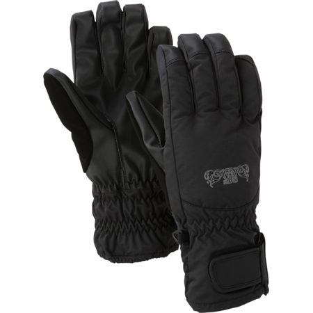 Burton Profile Black 2012 Girls Under Gloves