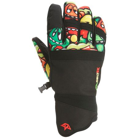 Celtek Faded Rasta 2012 Snowboard Gloves
