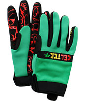 Celtek Misty Rasta 2012 Snowboard Gloves