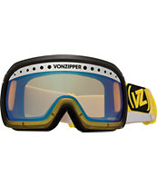 Von Zipper Fubar Smokeout Banana Bake Goggles
