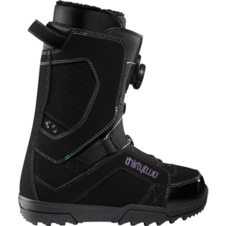 Thirtytwo STW BOA Black 2012 Girls Snowboard Boots