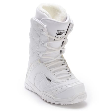 Thirtytwo Exus White 2012 Girls Snowboard Boots