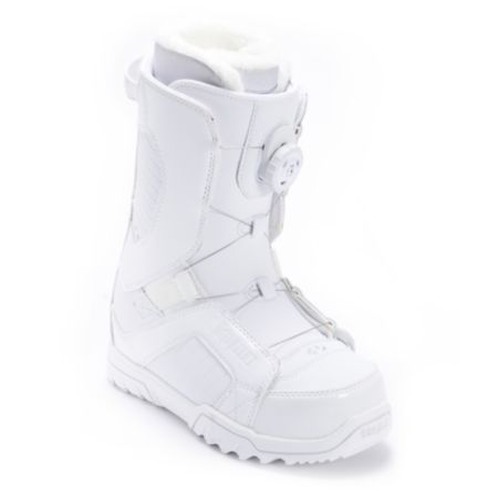 Thirtytwo STW BOA White 2012 Girls Snowboard Boots