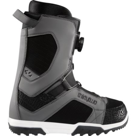 Thirtytwo STW BOA Grey 2012 Guys Snowboard Boots