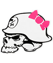 Metal Mulisha Bow Helmet Sticker