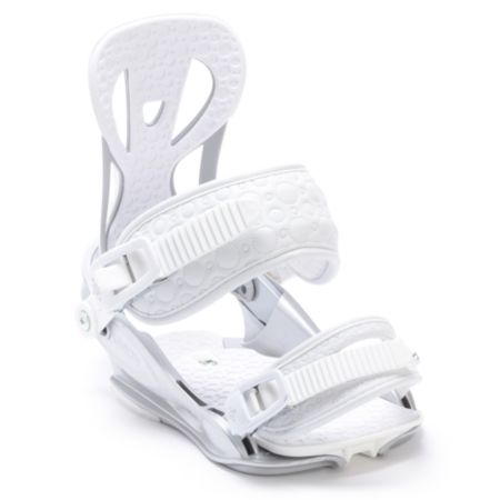 Union Flite Lady Silver 2012 Girls Snowboard Bindings