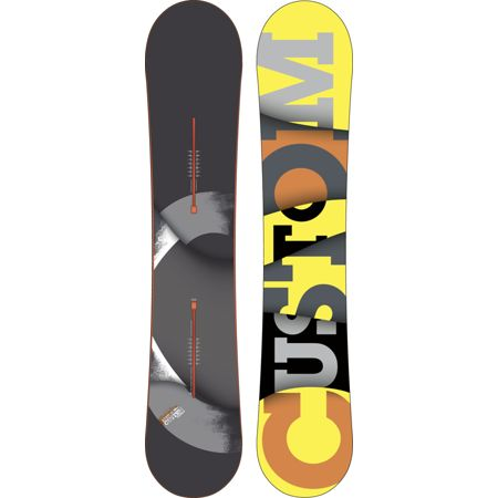 Burton Custom Flying V 155cm Wide 2012 Guys Snowboard