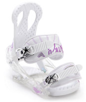 Burton Citizen White 2012 Girls Snowboard Bindings