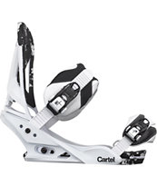 Burton Cartel Reflex White 2012 Guys Snowboard Bindings