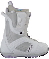 Burton Mint White 2012 Girls Snowboard Boots
