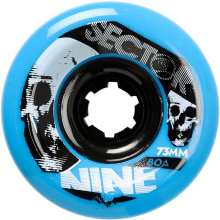 Sector 9 Race Formula 73mm Blue Skateboard Wheels