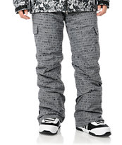 Grenade Cargo Matrix 10K Grey 2012 Guys Snowboard Pants