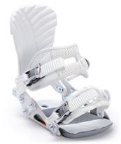 Ride DVa White 2012 Girls Snowboard Bindings