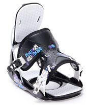Flow Muse Black 2012 Girls Snowboard Bindings