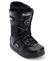 Ride Anthem BOA Black 2012 Guys Snowboard Boots