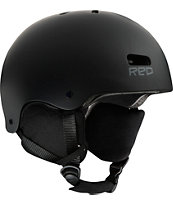 RED Trace 2012 Black Classic Audio Snow Helmet
