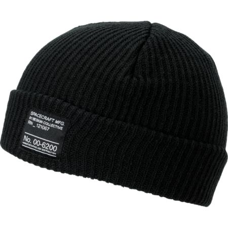 Spacecraft Dock Black Beanie