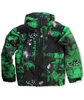 686 Mannual Bricks 2012 Kids 5k Snowboard Jacket