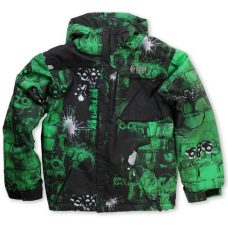 686 Mannual Bricks 2012 Boys 5K Snowboard Jacket