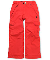 686 Boys Ridge 2012 Red  5K Snowboard Pants