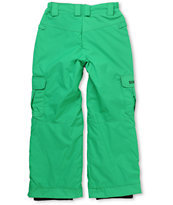 686 Kids Ridge 2012 Green 5k Snowboard Pants
