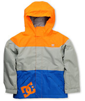 Dc Kids Amo 5k Orange 2012 Snowboarding Jacket