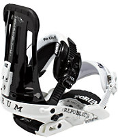 Forum Republic Black & White 2012 Guys Snowboard Bindings