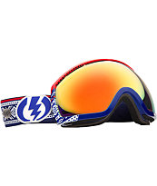 Electric Eg2 Andreas Wiig 2012 Red Chrome Snowboard Goggles