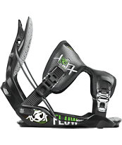 Flow Trilogy Black & Green 2012 Guys Snowboard Bindings