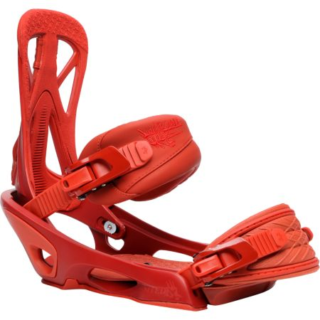 Rome United Red 2012 Guys Snowboard Bindings