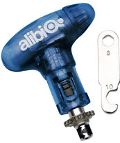 Alibi Snowboards Small 2012 Blue Ratchet Tool