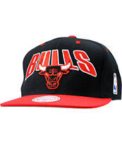 NBA Mitchell and Ness Chicago Bulls Snapback Hat