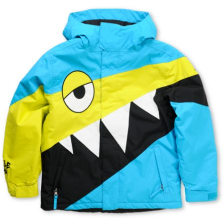 686 Mannual Snaggletooth 2012 Boys 5K Snowboard Jacket