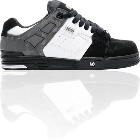 DVS Expo MFM Snow Black & White Skate Shoe