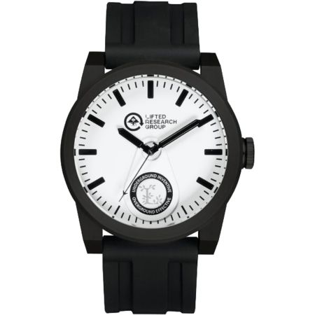LRG Volt Black & White Analog Watch