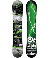 Alibi Motive 157cm Wide 2012 Guys Snowboard