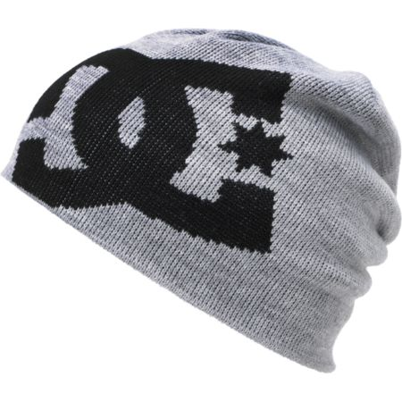 DC Big Star Heather Grey Beanie