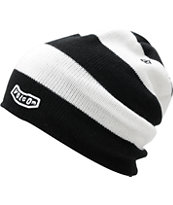 Volcom Circle Black & White Beanie