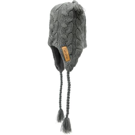 Electric Transmission 2 Grey Earflap Beanie
