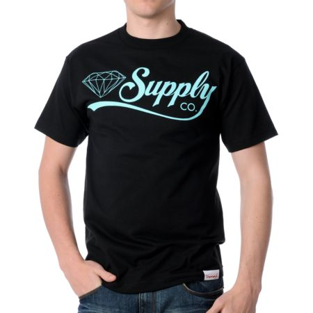 Diamond Supply Diamondaire Black Tee Shirt