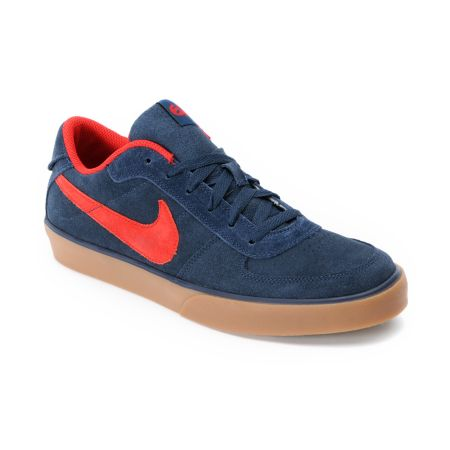 Nike 6.0 Mavrk Navy, Red & Gum Shoe