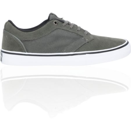 Vans Type II Grey & White Skate Shoe
