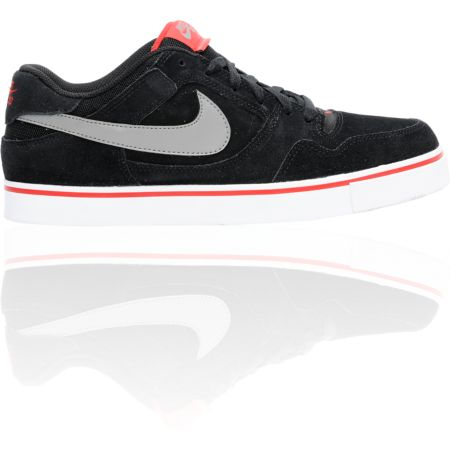 Nike SB Zoom P-Rod 2.5 Black & Red Suede Skate Shoe