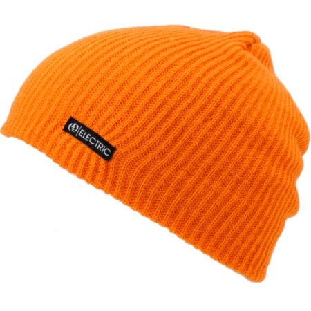 Electric 30W Orange Beanie