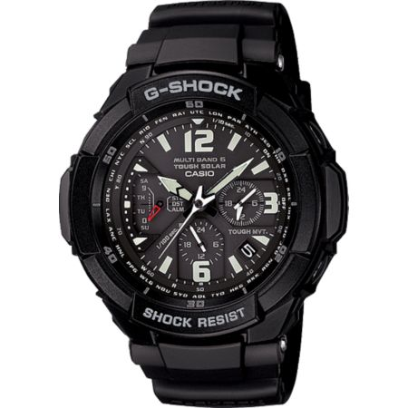 G-Shock GW3000BB-1A G-Aviation Black Chronograph Watch